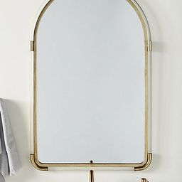 Joan Lucite and Brass Arched Mirror | Anthropologie (US)