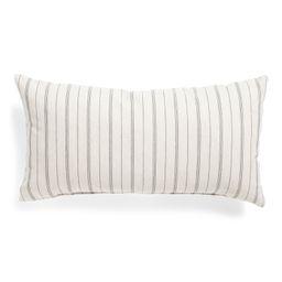 Made In Usa 14x26 Striped Lumbar Pillow | TJ Maxx