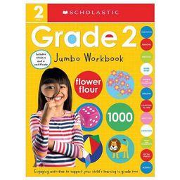 Second Grade Jumbo Workbook: Scholastic Early Learners (Jumbo Workbook) - (Paperback) | Target