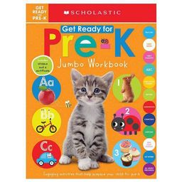 Get Ready for Pre-K Jumbo Workbook -  by Scholastic Inc. & Scholastic Early Learners (Paperback) | Target