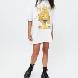 Def Leppard 1983 Tour T-Shirt Dress | Urban Outfitters (US and RoW)