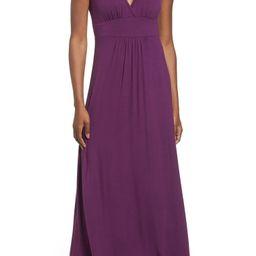 V-Neck Jersey Maxi Dress | Nordstrom