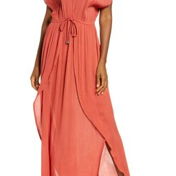 Wrap Maxi Cover-Up Dress | Nordstrom