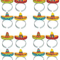 Cinco De Mayo Fiesta Party Colorful Sombrero Headbands Accessories, Paper, Pack of 16   Amazon (US)