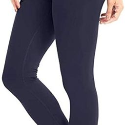 High Waisted Leggings for Women - Soft Athletic Tummy Control Pants for Running Cycling Yoga Work... | Amazon (US)