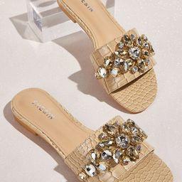 Gemstone Decor Sliders | SHEIN