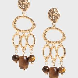 Stone Dangle Earrings   Banana Republic (US)