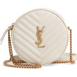 Vinyle Matelassé Leather Crossbody Bag   Nordstrom