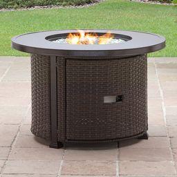 Better Homes & Gardens Colebrook 37-Inch Gas Fire Pit | Walmart (US)