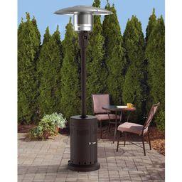 Mainstays Large Outdoor Patio Heater, Powder Coat Brown | Walmart (US)