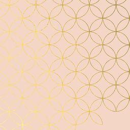 Mid Century Circles Metallic Outline LifePlanner™ | Erin Condren