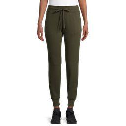 Athletic Works Women's Athleisure Soft Joggers Sweatpants | Walmart (US)