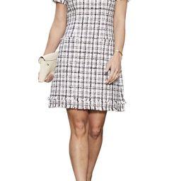 Cap Sleeve Tweed Shift Dress | Nordstrom