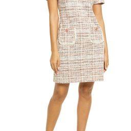 Tweed Pocket Detail Dress | Nordstrom