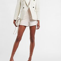 Double Breasted Tweed Blazer | Express