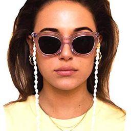 Cathercing Fashion Sunglasses Eyeglass Chains Necklace Shell Eyewear Retainer Reading Eyeglass Ho... | Amazon (US)