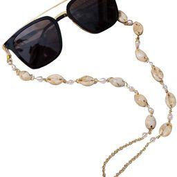 ADDJ Eyeglasses Chains Eyewear Strap Sunglasses Holder Reading Glasses Retainer Lanyard Cowrie Sh...   Amazon (US)