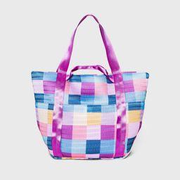Zip Closure Tote Handbag - Shade & Shore , MultiColored   Target