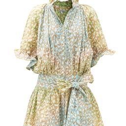Snow Leopard tie-dye cotton-voile mini dress | Matchesfashion (Global)