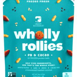 Crazy Richard's Wholly Rollies Peanut Butter & Cacao Protein Bites | Walmart (US)