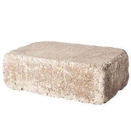 Pavestone RumbleStone Large 3.5 in. x 10.5 in. x 7 in. Cafe Concrete Garden Wall Block (96 Pcs. /... | The Home Depot