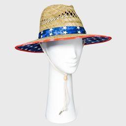 Adult Americana Straw Lifegaurd Hat - Natural   Target