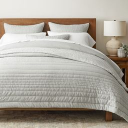 Ultra Soft Handcrafted TENCEL™/Cotton Reversible Quilt & Shams | Pottery Barn (US)