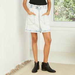 Women's High-Rise Paperbag Denim Skirt - Universal Thread™ | Target