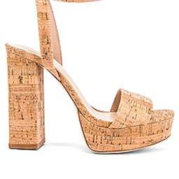 House of Harlow 1960 X REVOLVE Mika Platform Heel in Natural Cork from Revolve.com | Revolve Clothing (Global)