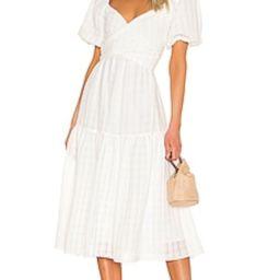 ASTR the Label Sonnet Dress in White from Revolve.com | Revolve Clothing (Global)