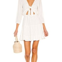 L*SPACE Stay Golden Dress in White from Revolve.com | Revolve Clothing (Global)
