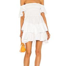 ELLIATT De Novo Dress in White from Revolve.com | Revolve Clothing (Global)