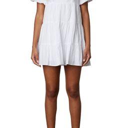 Silvana Ramie & Cotton Babydoll Dress | Nordstrom