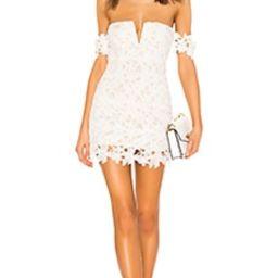 superdown Shannan Mini Dress in White from Revolve.com | Revolve Clothing (Global)