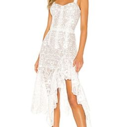 Bronx and Banco Tiffany Blanc Dress in White from Revolve.com | Revolve Clothing (Global)