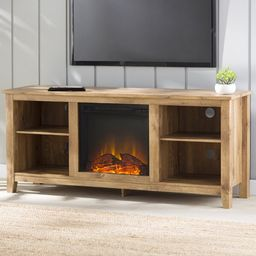 """Sunbury TV Stand for TVs up to 65"""" with Fireplace Included 