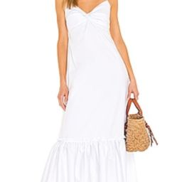 L'academie Laura Dress in White from Revolve.com | Revolve Clothing (Global)