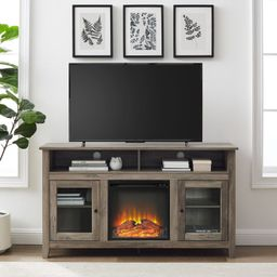 """Kohn TV Stand for TVs up to 65"""" with Fireplace Included 