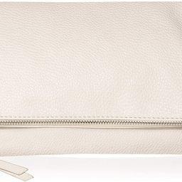 Amazon.com: The Drop Southampton Zipper Foldover Clutch, Ivory: Shoes   Amazon (US)