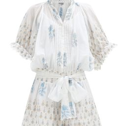 Floral-print cotton-voile mini dress | Matchesfashion (Global)