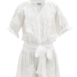 Floral-embroidered cotton mini dress | Matchesfashion (Global)