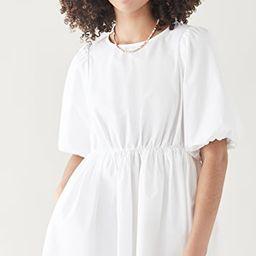 Poplin Puff Sleeve Mini Dress | Shopbop
