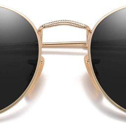 SOJOS Small Round Polarized Sunglasses for Women Men Classic Vintage Retro Frame UV Protection SJ... | Amazon (CA)