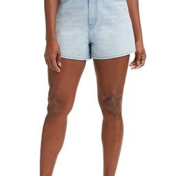 Super High Waist Loose Denim Shorts | Nordstrom