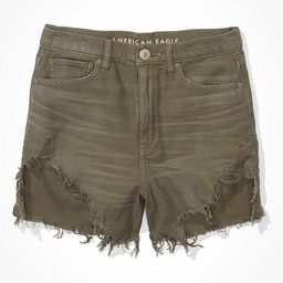 AE Highest Waist Denim Mom Shorts | American Eagle Outfitters (US & CA)