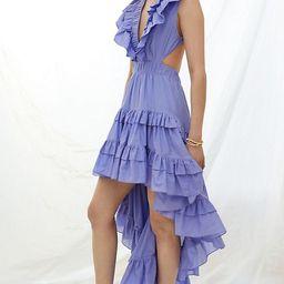 Magali Pascal Ruffled High-Low Maxi Dress   Anthropologie (US)