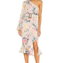 HEMANT AND NANDITA Teien Midi Dress in Pastel Teien from Revolve.com   Revolve Clothing (Global)