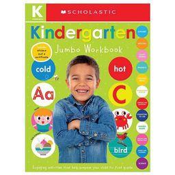 Jumbo Kindergarten -  Workbook by Scholastic Inc. & Scholastic Early Learners (Paperback) | Target