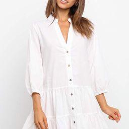 Taffu Dress - White   Petal & Pup (US)