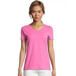 Hanes Women's X-Temp® V-Neck T-Shirt - 42V0   Walmart (US)